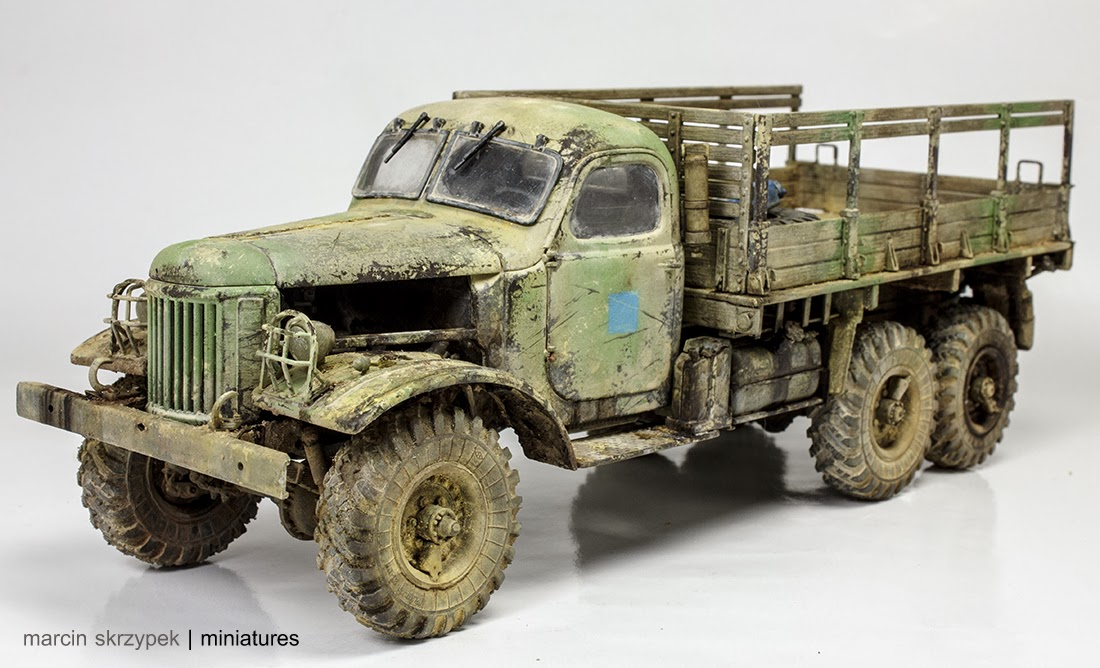 Egyptian Zil-157 - Trumpeter, 1:35 ...