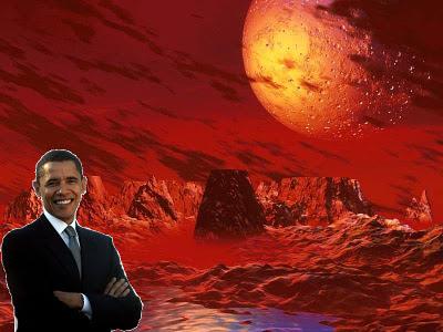 Obama en Marte