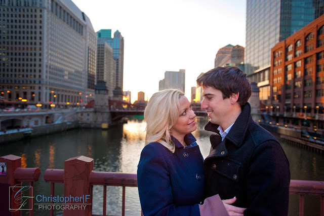 Chicago Engagement Photography Downtown