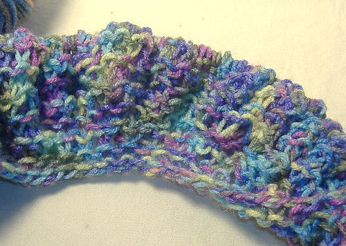 Easy Knitting For Beginners: Easy Beginners Ruffled Scarf Pattern