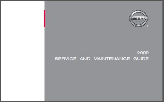 nissan presage: nissan maintenance guide