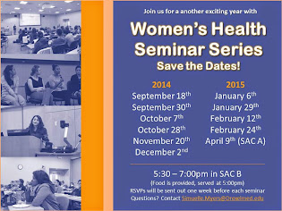 JOIN US - Women' Health Seminar Series!