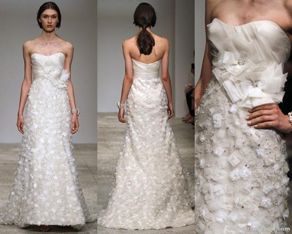 Amsale drama abc tv wedding week for Amsale aberra wedding dresses