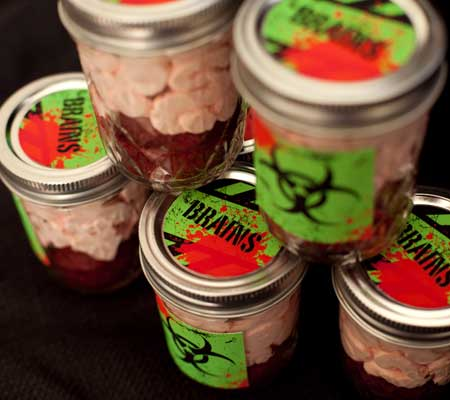 zombie party toxic brain in a jar printables