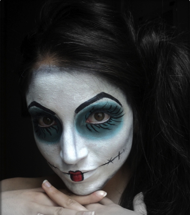 The spanish attitude maquillaje de halloween - Como pintar la cara de nina de bruja ...