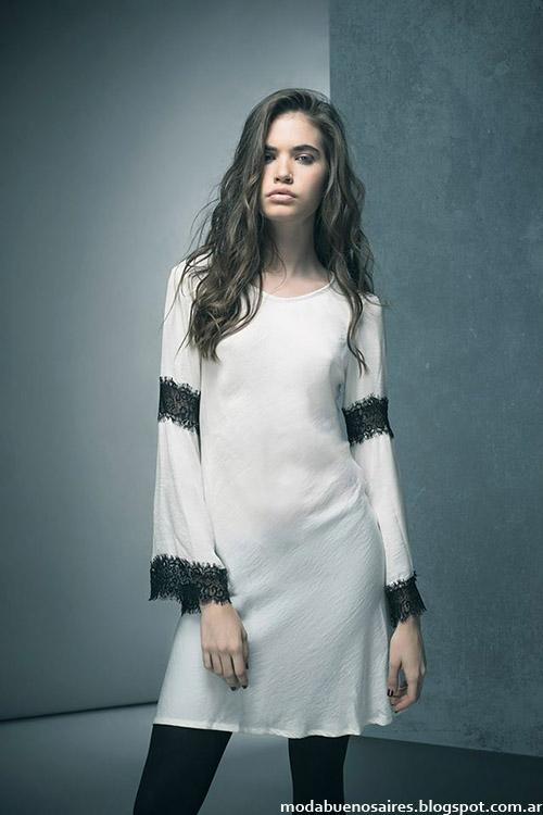 Vestidos invierno 2015 moda en ropa Doll Store.