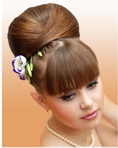 Cómo hacerse un peinado abombado Peluquería Moda y belleza