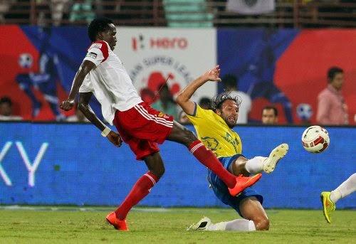 Kerala Blasters drew NorthEast United FC