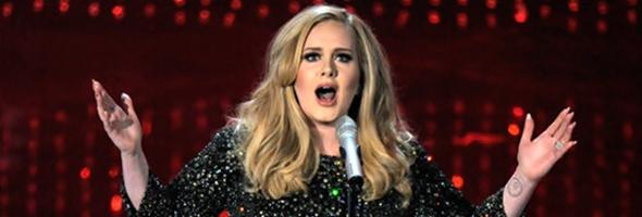 Adele cantando no Oscar 2013