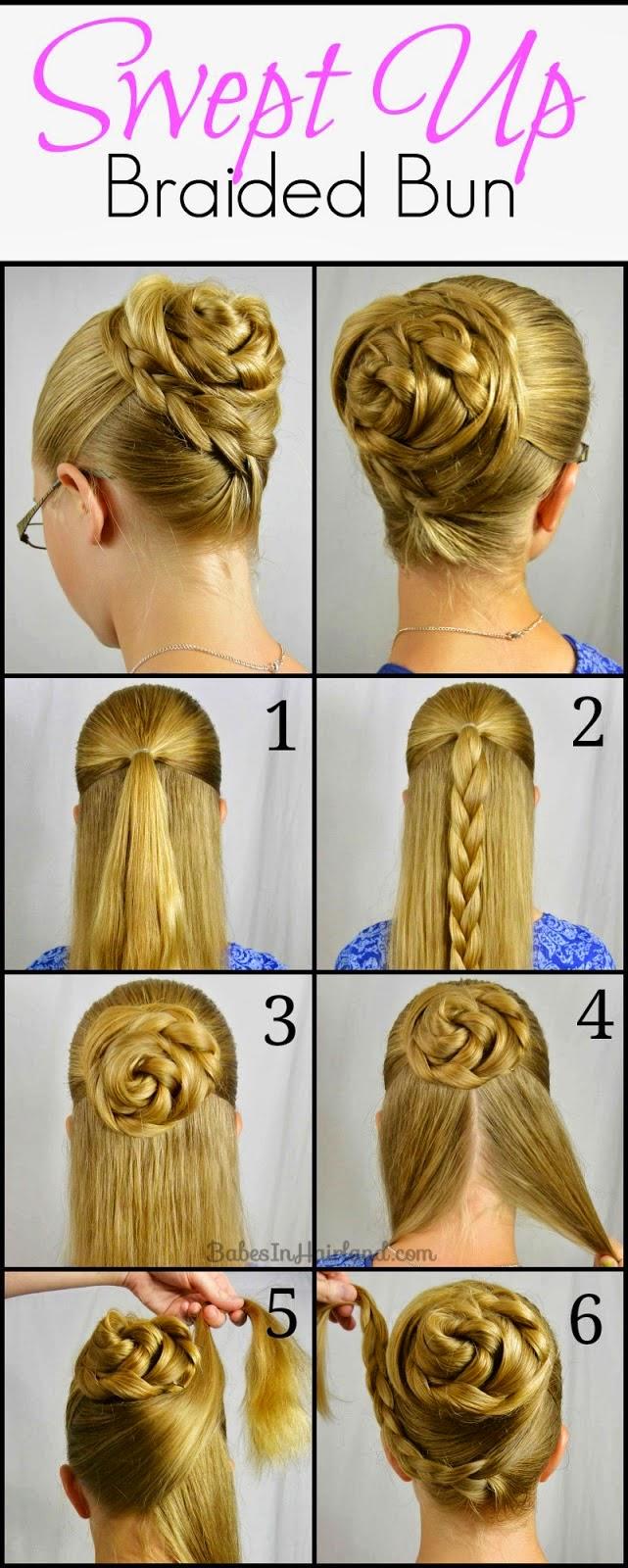 простые прически на средние волосы фото инструкция