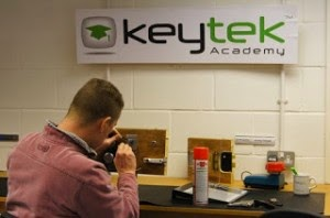Student at the Locksmith Training Academy