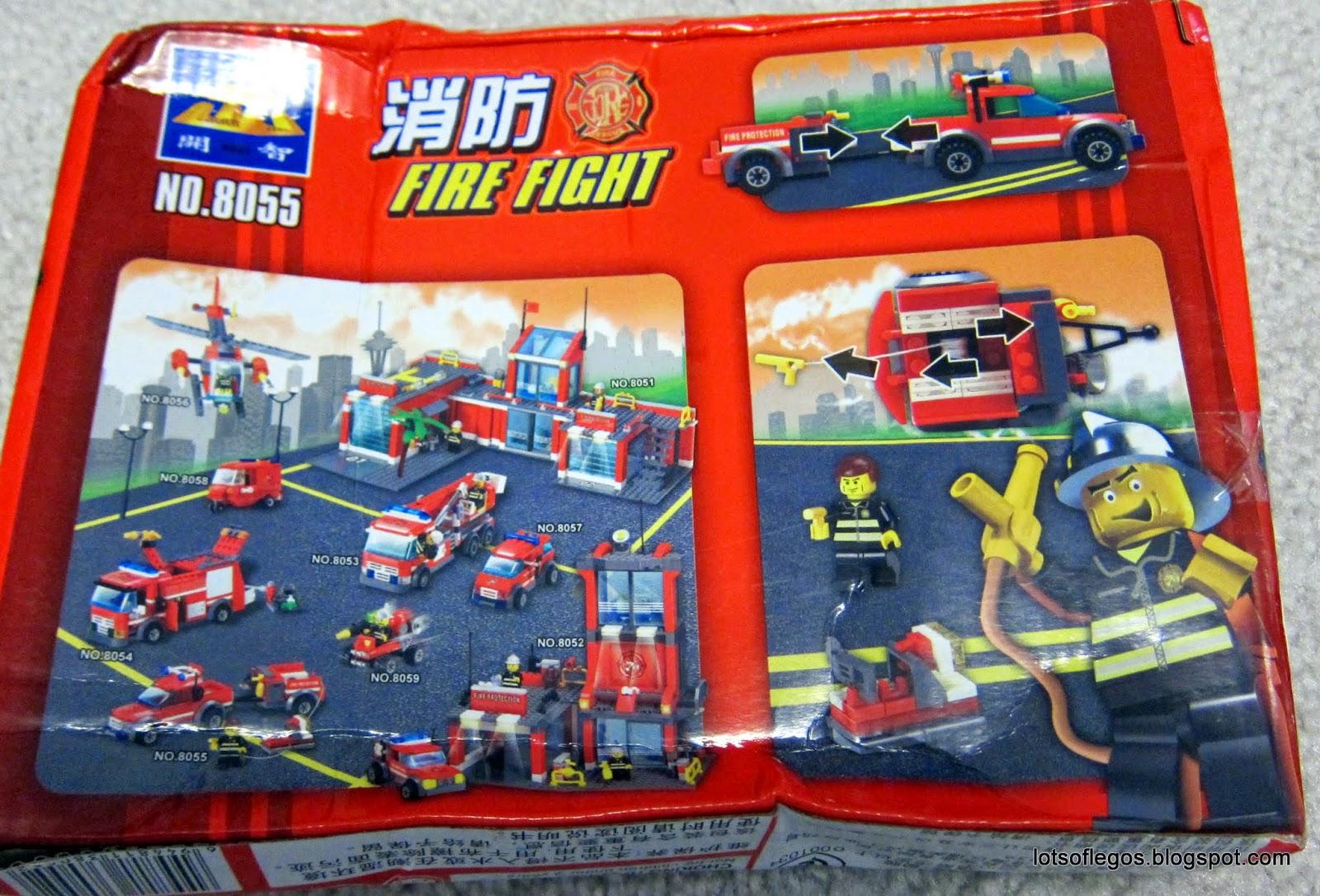 lego fire truck trailer instructions