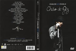 DVD Zeca Baleiro Canta Zé Ramalho – Chão de Giz (2015)