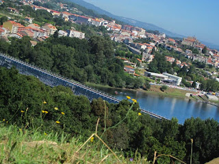 International Bridge and Tui from Valença do Minho