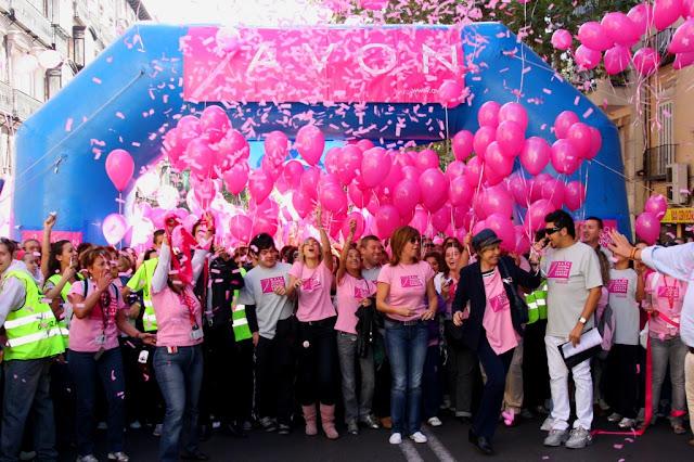 VIII MARCHA MUNDIAL AVON CONTRA EL CÁNCER DE MAMA 2012
