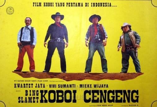 Nostalgia Film Bing Slamet Koboy Cengeng - Kwartet Jaya