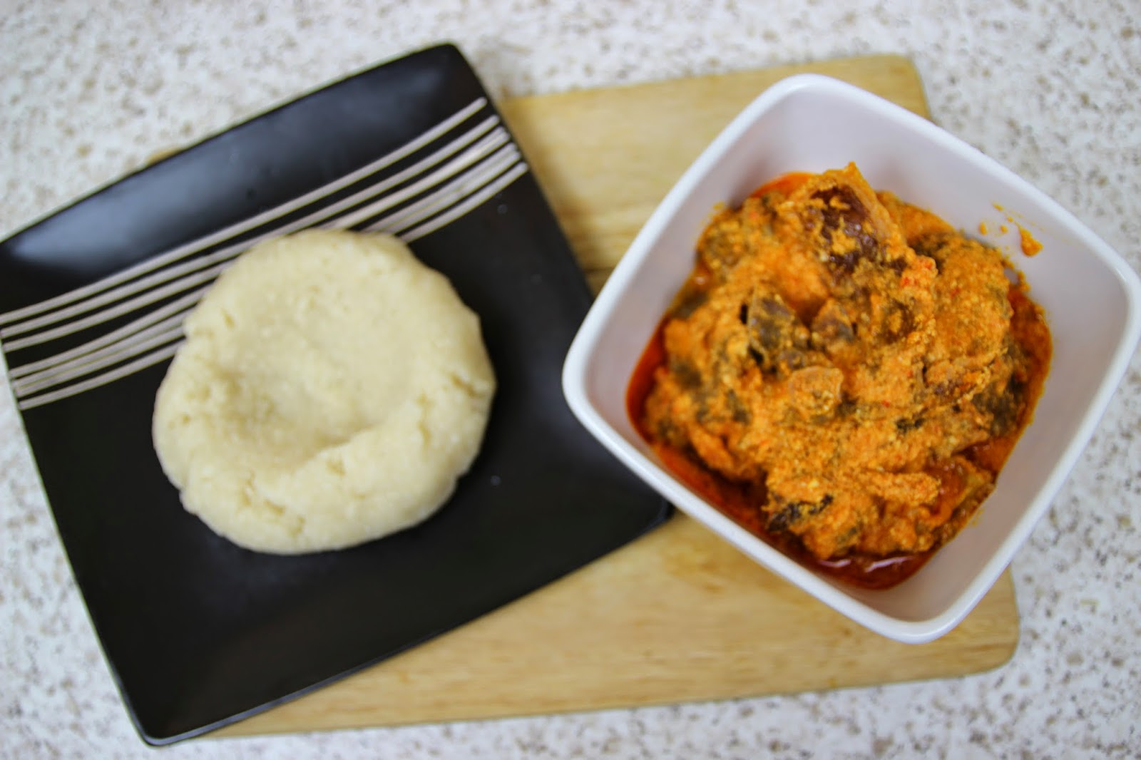 How to make Eba (Garri) - Nigerian Food Recipes
