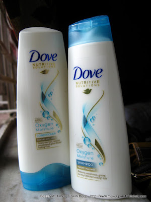 Dove Oxygen Boost Shampoo and Conditioner