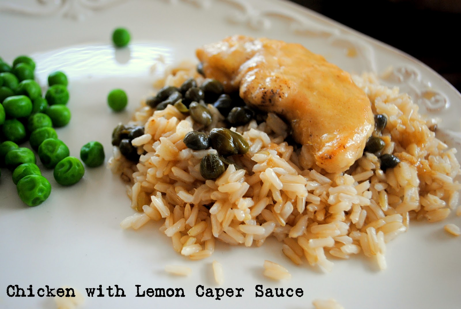 ThriceTheSpice: Chicken with Lemon Caper Sauce