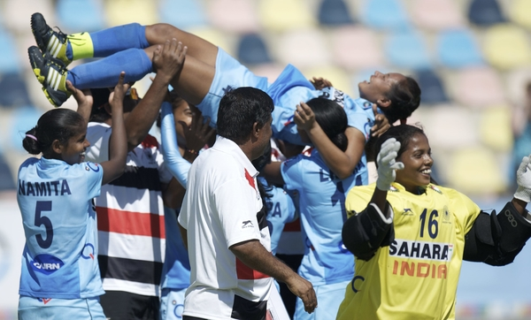 India won Bronze Medal in Women's Junior World Cup