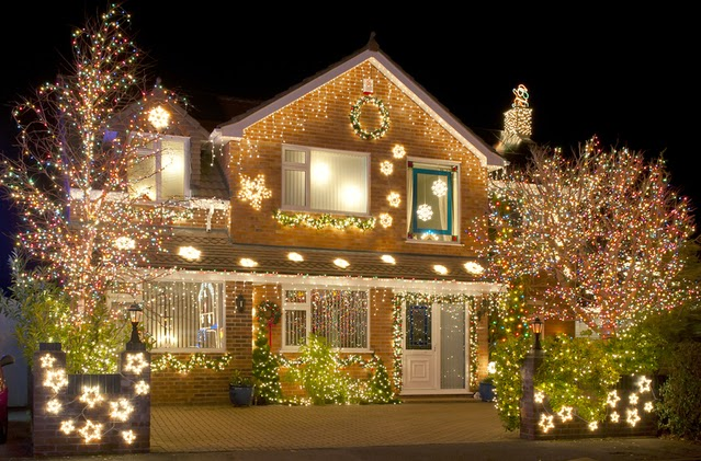 Christmas Lights home