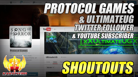 Shoutouts, Protocol Gaming & UltimateUG, 2/9/2015