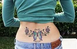 Lower Back Tattoos Designs