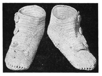 Vintage Baby Shoes Digital PDF Crochet Pattern $1.95