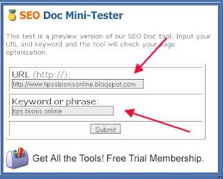 cara menganalisa keyword pada website
