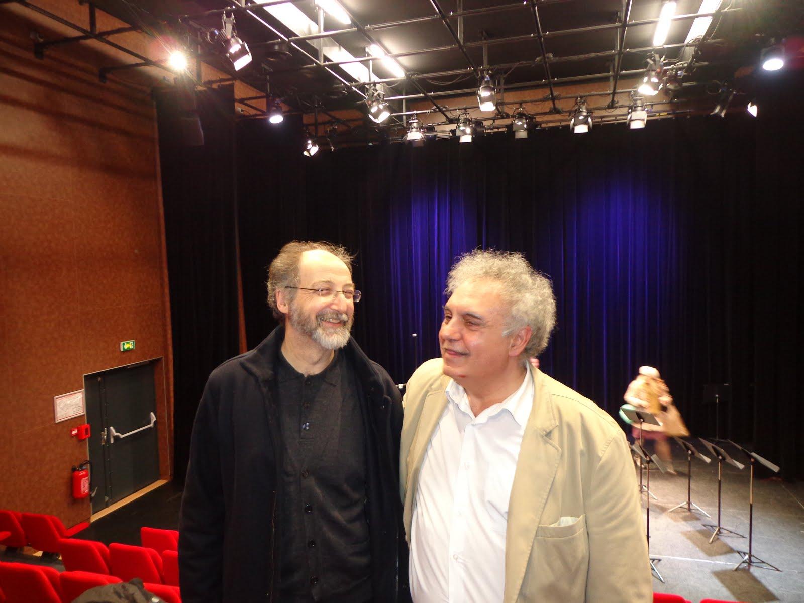 junto al compositor Arthur Thomassin