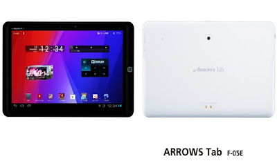 Fujitsu Arrows F-05E - Tablet Android Layar Lebar Processor Quad Core - Berita Handphone