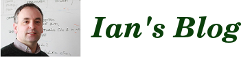 Ian&#39;s Blog