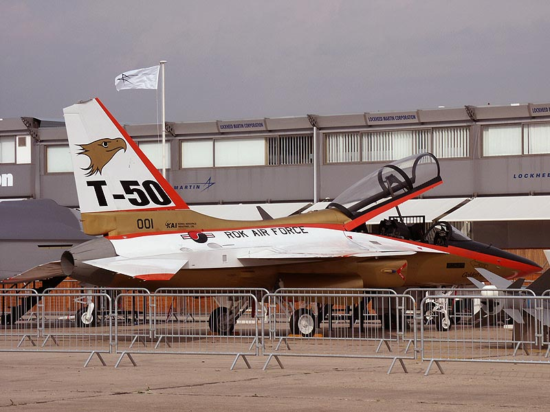 T-50 Golden Eagle-New Generation Jet Trainer