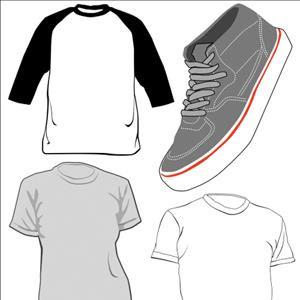 plantilla camiseta  diseño vector
