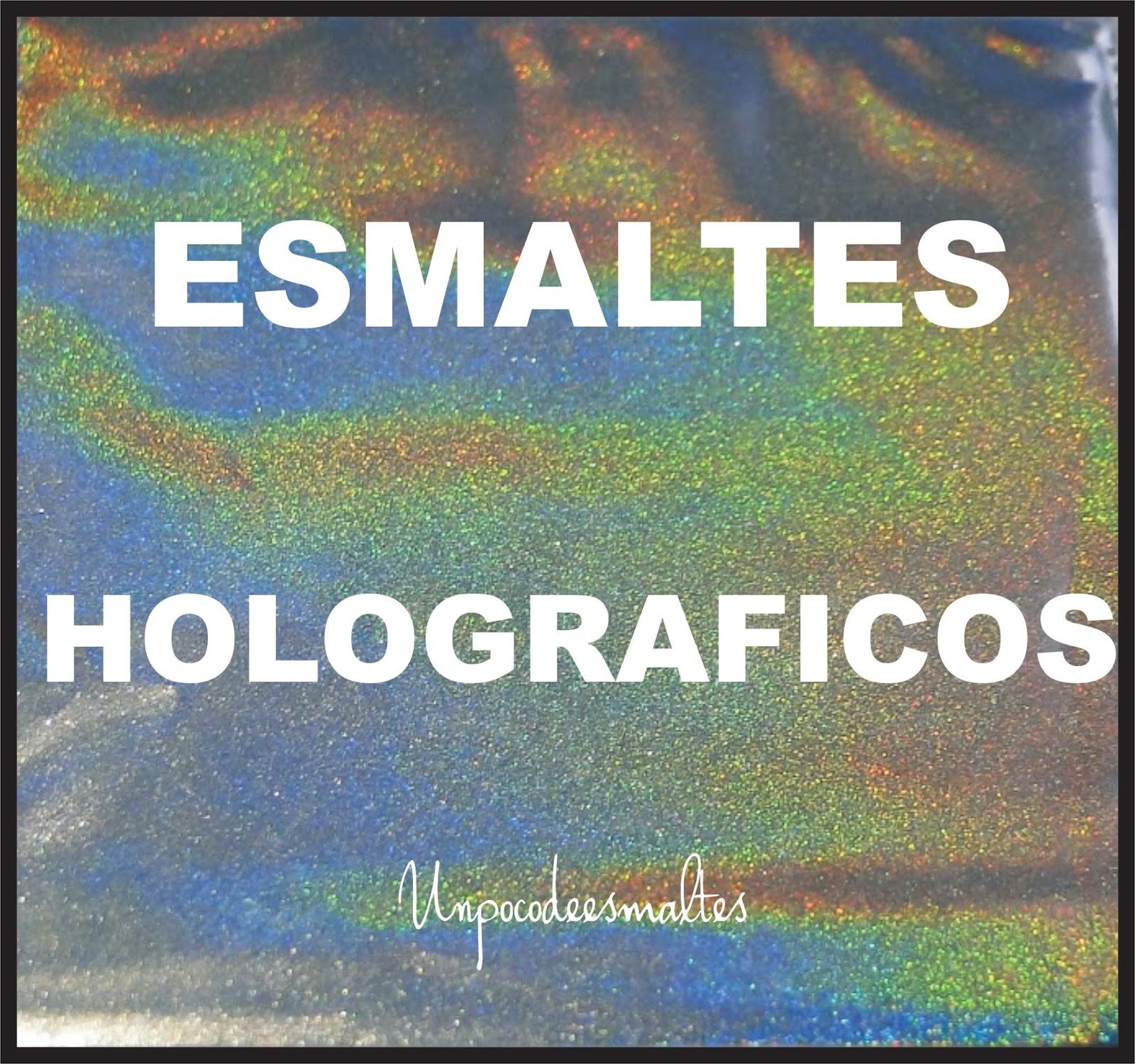 Un poco de esmaltes: ¿Como funciona un esmalte holográfico?