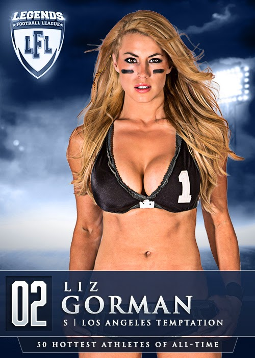 Lingerie Football League dreamgirls blog: Liz Gorman is ...