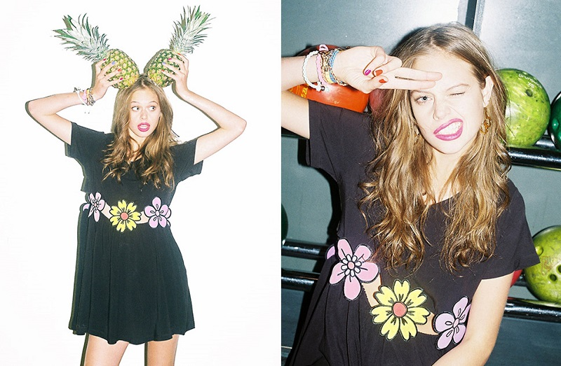 Nasty Gal x Lazy Oaf, lookbook, spring, summer,