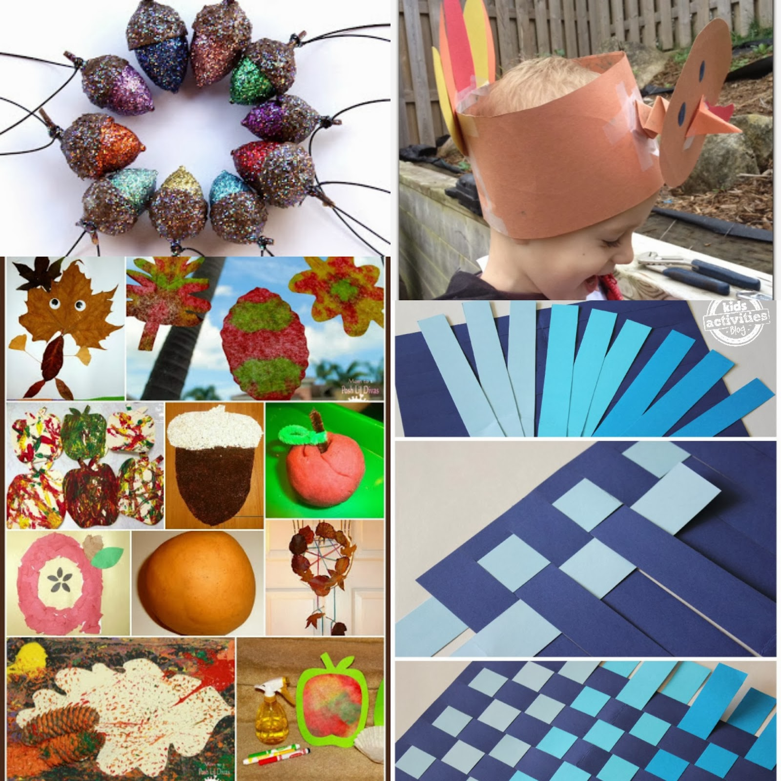 Click any of the links below for the full post for Nature crafts for kids