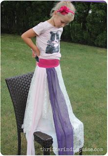 Measuring Skirt Fairy Costume