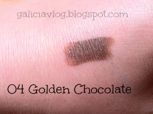 Long Lasting Stick Eyeshadow  04 Golden Chocolate