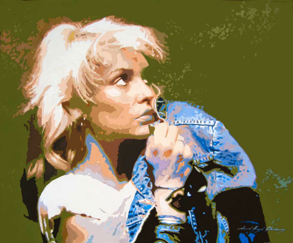 Blondie painting