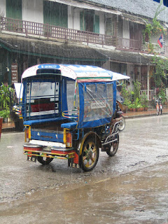 Laos in the rain
