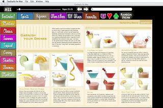 Aplicación de Cocktails