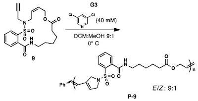 Trigger polymerization