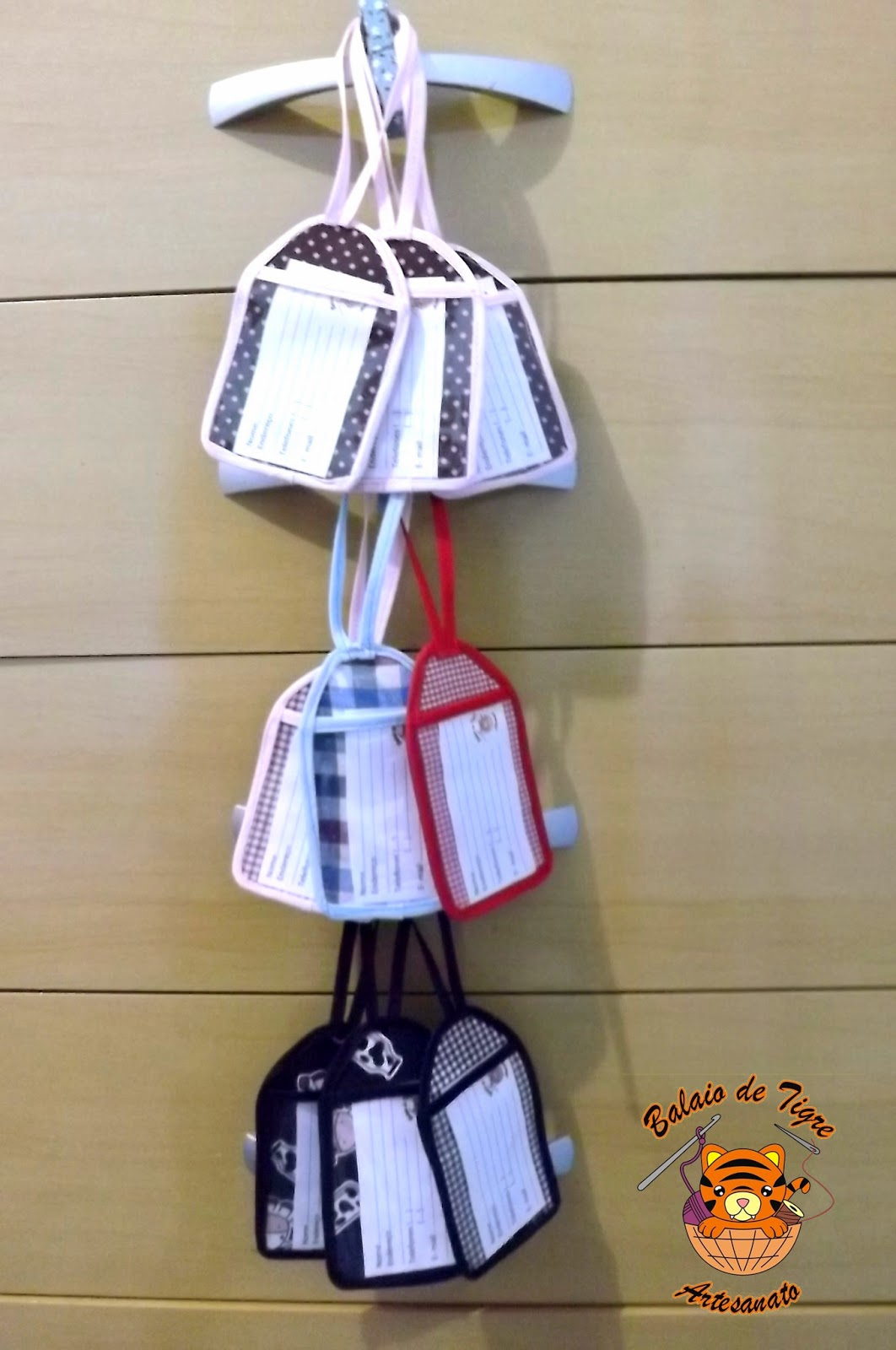 tag etiqueta mala bagagem balaio de tigre artesanato