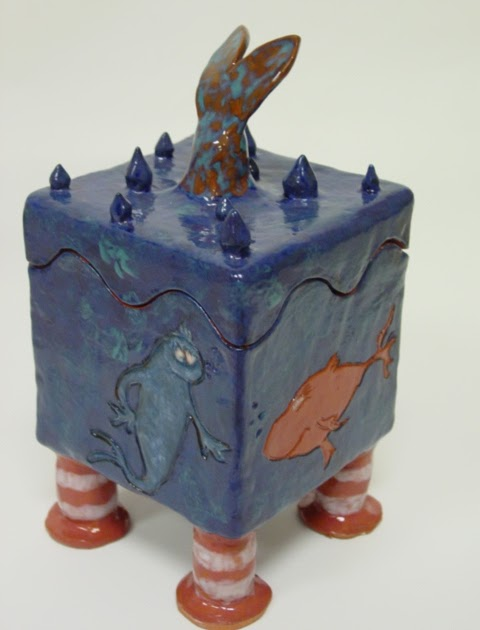how to make a clay slab box