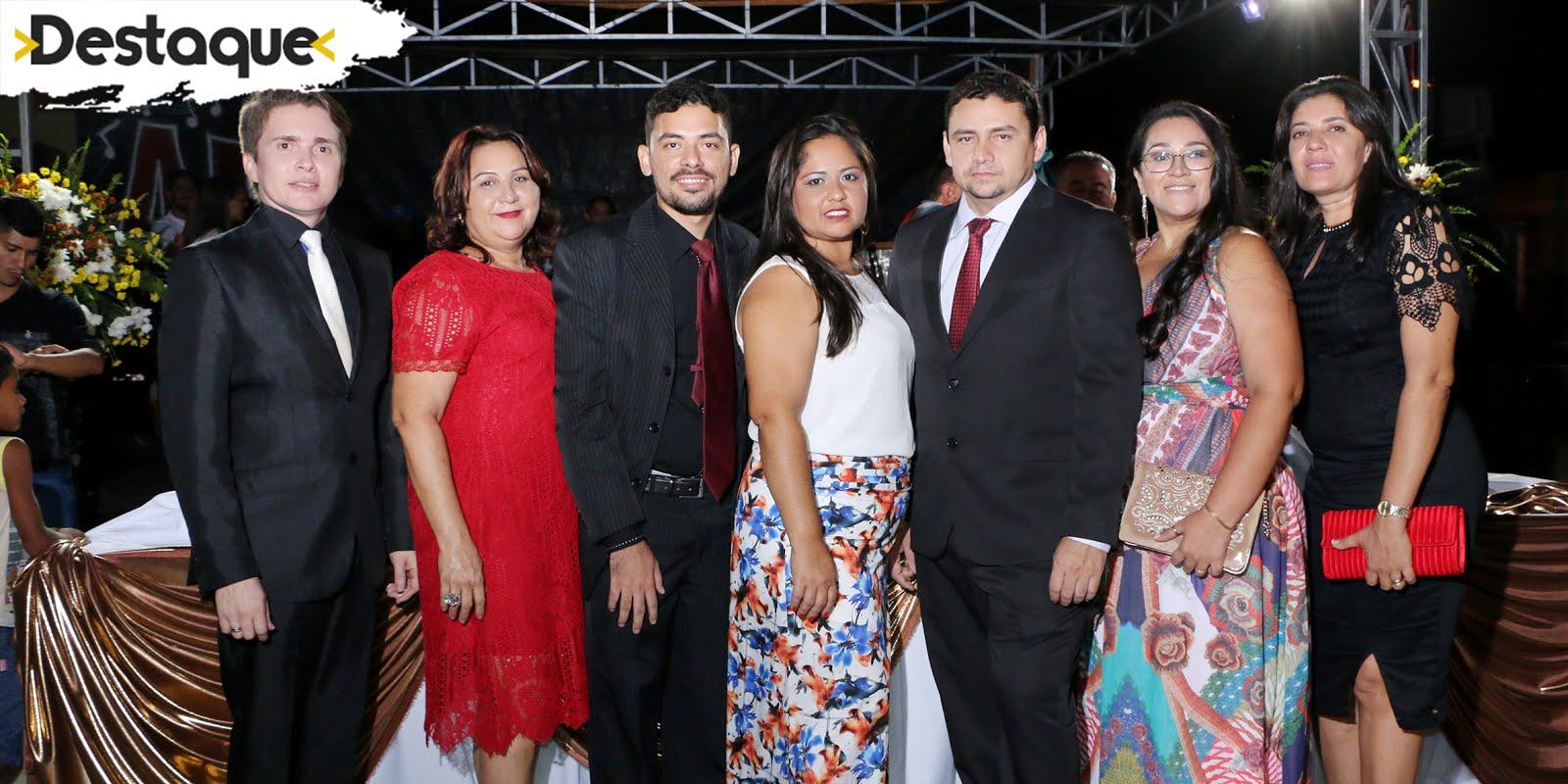Cerimônia de posse em Paraú