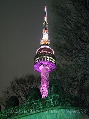 首爾塔, seoul tower,
