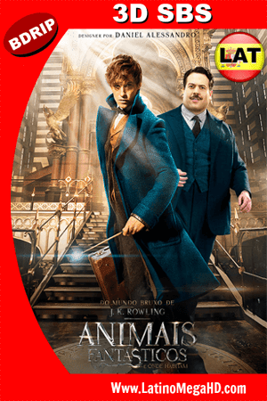 Animales Fantásticos y Dónde Encontrarlos (2016) Latino FULL 3D SBS BDRIP 1080P ()