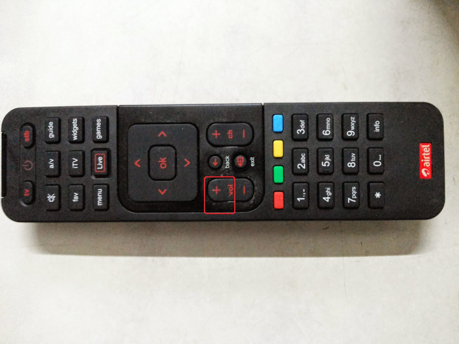 socrates s experience how to program and use airtel digital tv universal remotes with your tv set. Black Bedroom Furniture Sets. Home Design Ideas